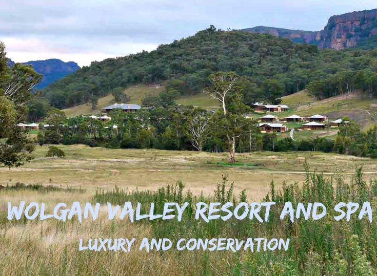 Wolgan Valley Resort and Spa offers the perfect combination of luxury and conservation   #BlueMountains #luxury #spa #outback #wildlife