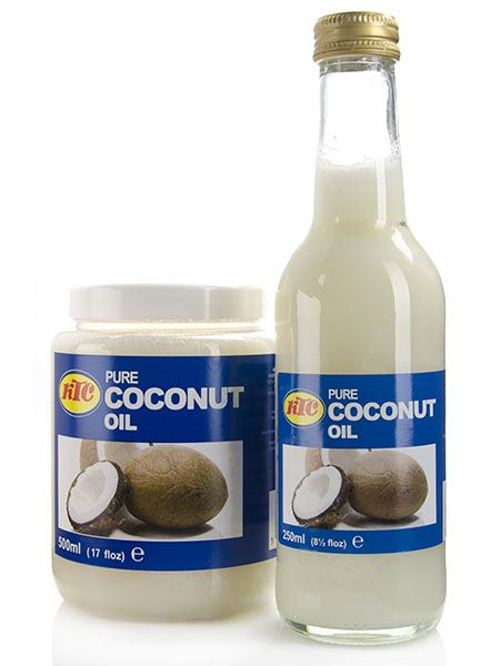 100% Pure Coconut Oil....Not only good to moisturize hair. BUT it lubricates down THERE and gives it a sweetness.