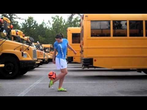 ▶ Indi Cowie High School Freestyle Training - YouTube