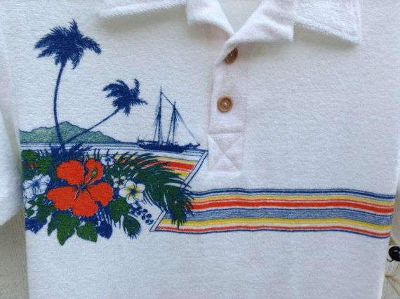 Ocean pacific surfer 70s 80s surf wear. FREE SHIPPING by Mamaphias, $28.00
