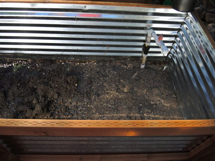 How-to instructions for constructing galvanized metal raised garden beds