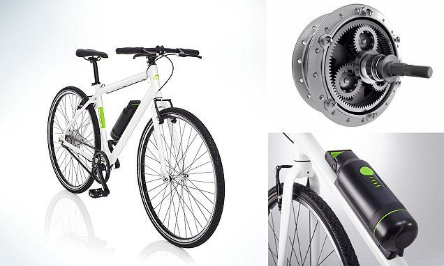 'Stealth' ebike uses battery shaped water bottle and hidden motor