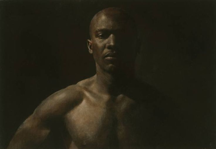 Buy Olympian, a Oil on Wood by Fletcher Sibthorp from United Kingdom. It portrays: Men, relevant to: realism, classical, figurative, athletic, male, nude Sitter is an international athlete, who competes regularly in the Masters