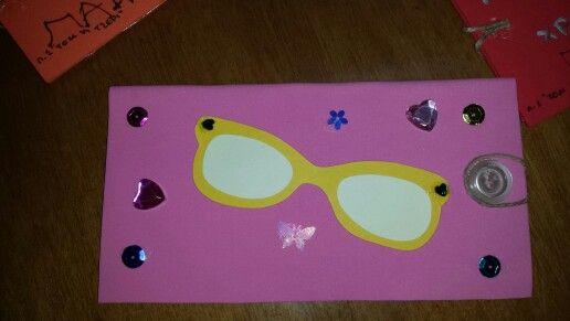 Θήκη για τα γυαλιά κατασκευή για την παγκόσμια ημέρα της τρίτης ηλικίας!