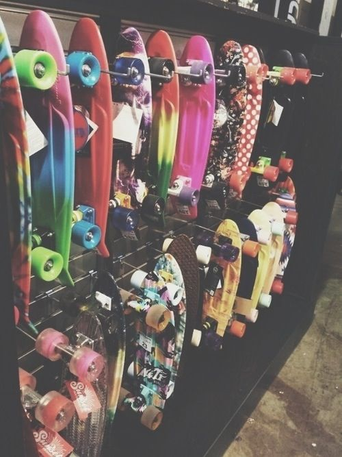 So. Much. Penny boards.
