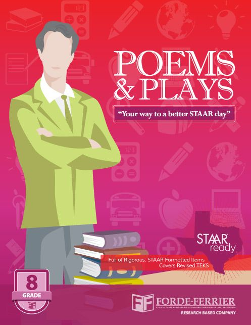 20 best staar resources images on pinterest standardized test texas staar poems and plays workbook grade 8 fandeluxe Images