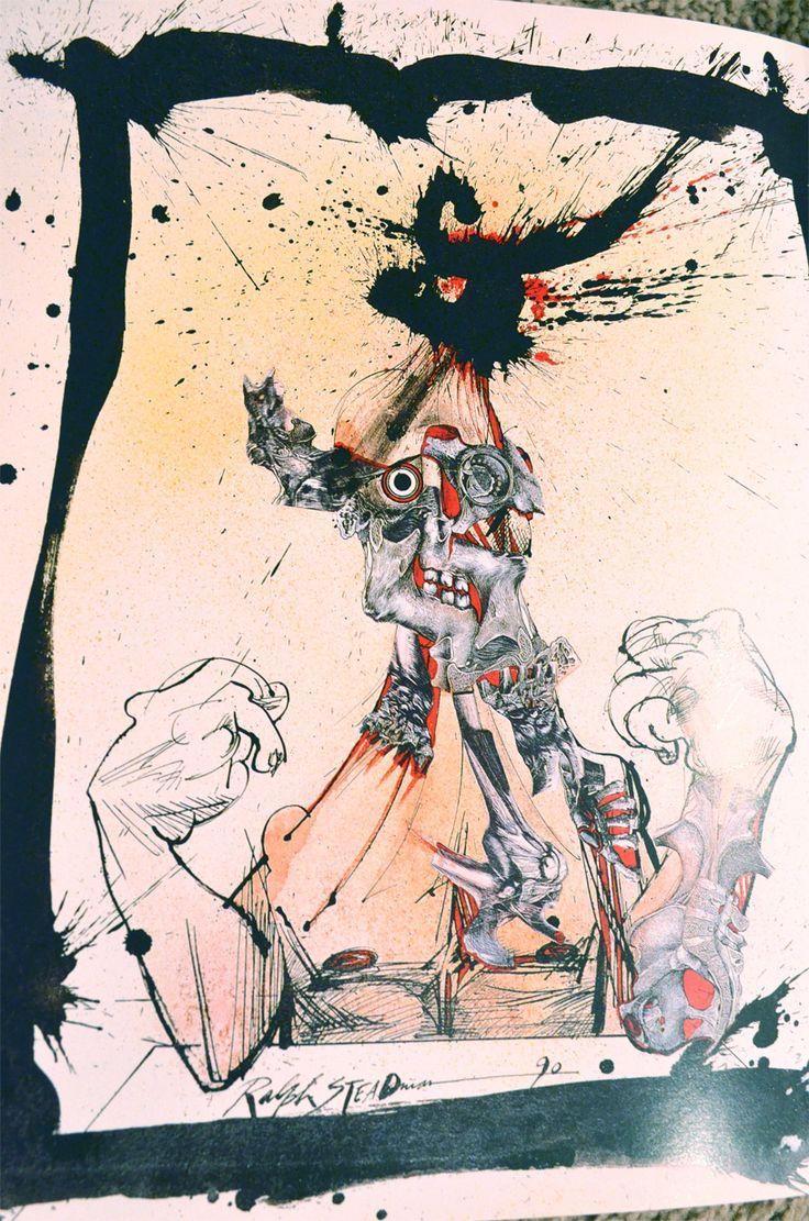 Ralph Steadman mind power 90