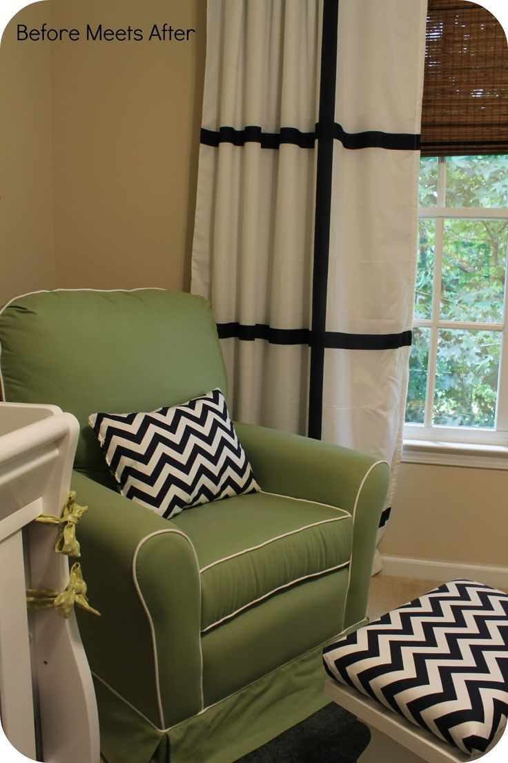 Before Meets After: Nursery Chair And A Sneak Peek