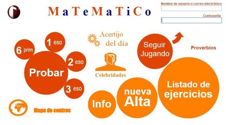 otra página de matemáticas