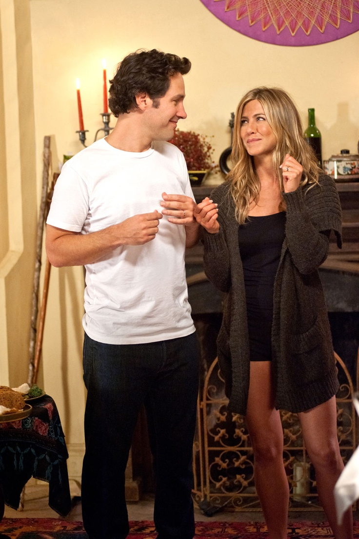 Jennifer Aniston and Paul Rudd in Wanderlust.