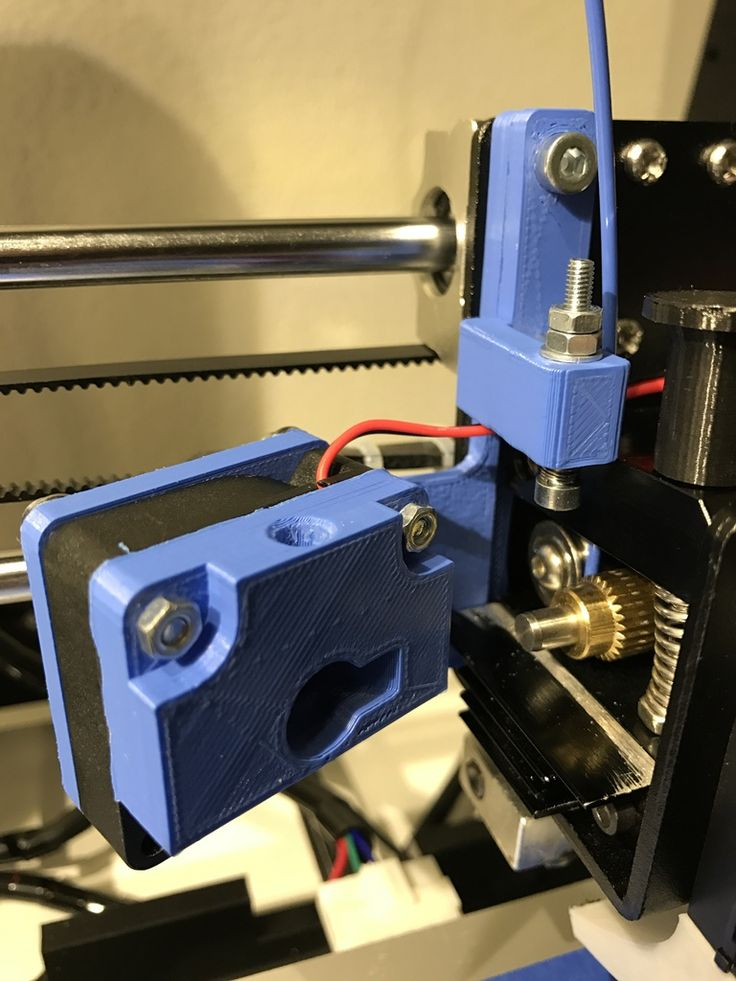 Anet A8 modification for filament loader by nicolaidiz.