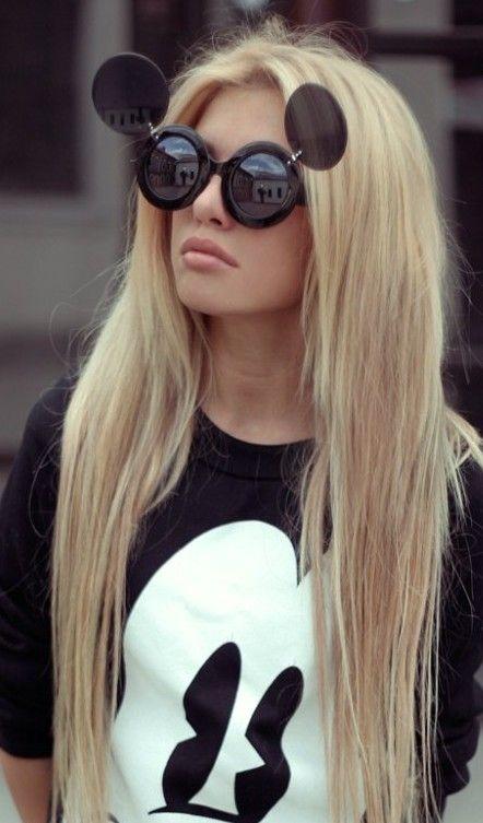 flip up Mickey sunglasses