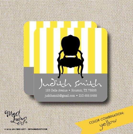 Business Card Idea   Change Stripe Colors
