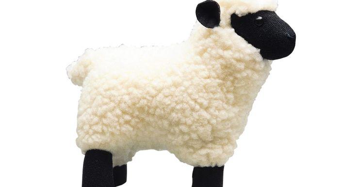 Como fazer uma ovelha de pelúcia