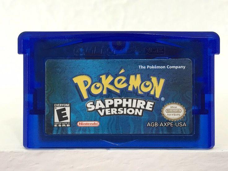 pokemon sapphire version - 736×552