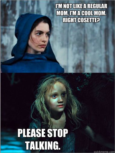 Les Mean Girls -- this tumblr page is actually so funny