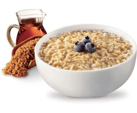 Quaker weight control oatmeal in maple and brown sugar...yummy, and what I eat for breakfast most days!