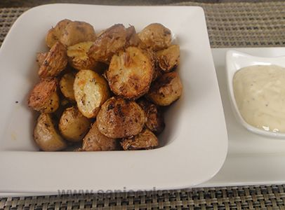 14 best potato recipes by chef sanjeev kapoor images on pinterest how to make baked baby potatoes with lime mayonnaise recipe by masterchef sanjeev kapoor forumfinder Images