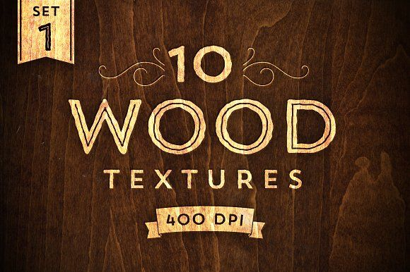 10 Wood Textures - Set 1 by Ornaments of Grace on @creativemarket