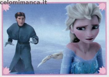 Frozen 2 - Momenti Magici: Fronte Figurina n. 149
