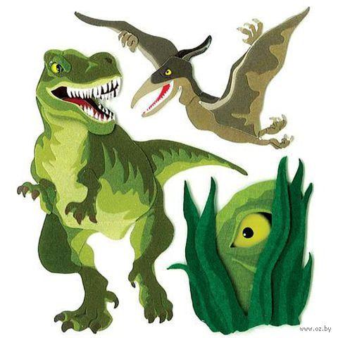 """Стикеры для скрапбукинга """"Джоли бутик. Динозавры"""" (арт. EKS-SPJB800)"""