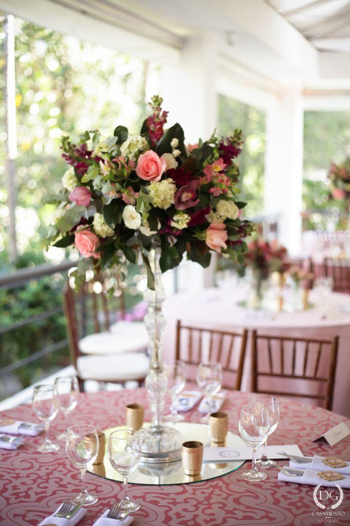 casamento no campo menta rosa e dourado 2wed com br decoração rosa