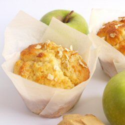Light and Fluffy Apple Muffins