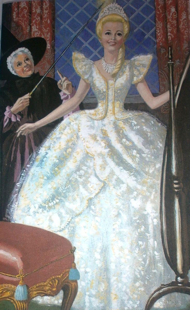 Old Cinderella Book | Ladybird Book Cinderella 1964 - The dress finale!
