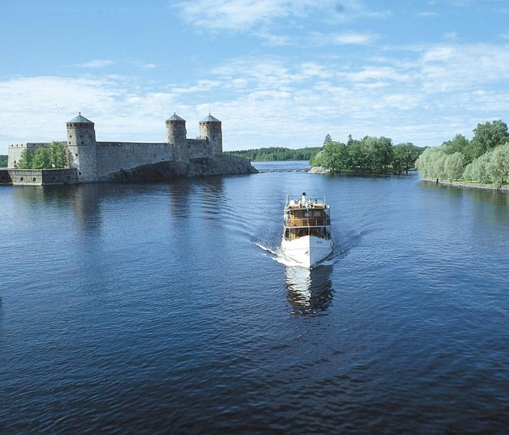 Take a boat trip to Savonlinna castle. #Finland #Travel