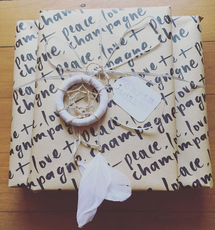 'Brown paper packages tied up with string' We always try to have recycled and recyclable paper wrapping useful and thoughtful presents. Fabric is also great for wrapping gifts.