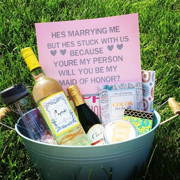 Will you be my maid of honor. How I asked my best friend to be my maid of honor.