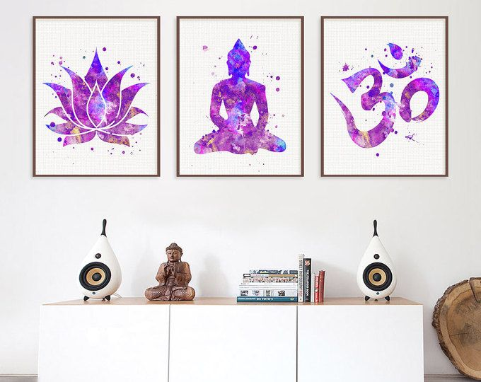 Yoga Wall Art best 25+ buddha wall art ideas on pinterest | buddha art, buddha