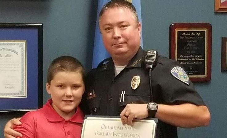 Policeman who saved a young boy from extreme child abuse has adopted him
