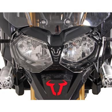 SW-MOTECH Quick Release Headlight Guard for Select Triumph Tiger 800 & Explorer Models | TwistedThrottle.com