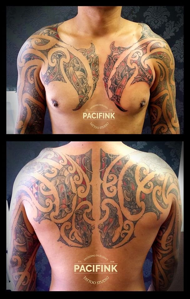 #tamoko #tattoo done by Pappy Pacifink Tattoo for bookings go to www.pacifink.com.au