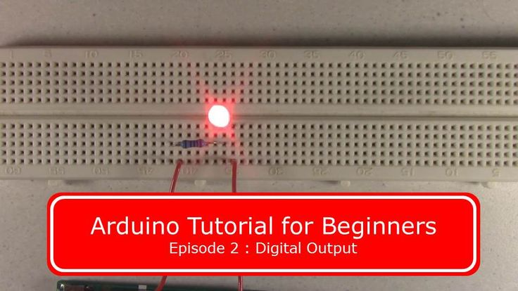 Simple Arduino tutorial to blink an LED.