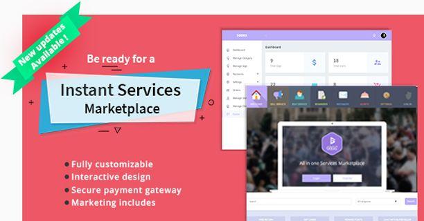 Gigs - Services Marketplace PHP Script (Fiverr clone - Multi Vendor