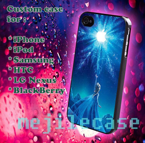 Disney Frozen iphone 4/4s iphone 5/5s/5c Bleckberry HTC by mejile, $12.10