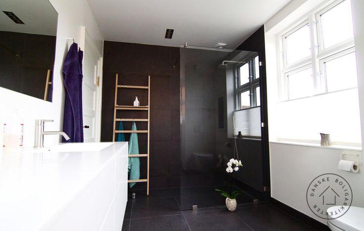 Nyt arkitekttegnet bad på første sal. Arkitekt Jan Andreasen/Danske BoligArkitekter.