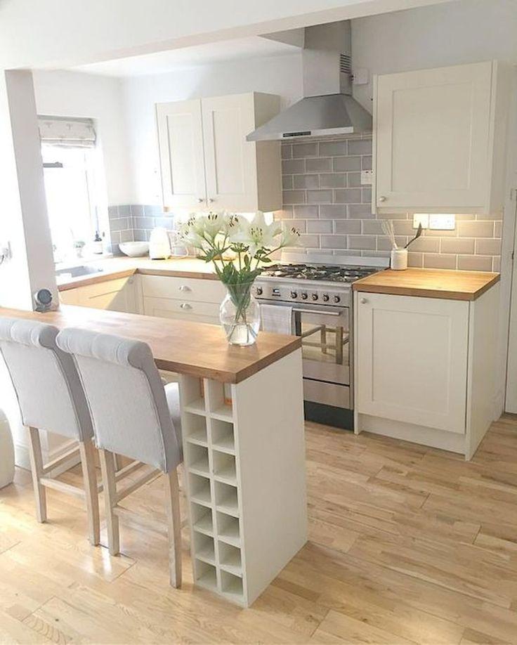 90 überraschende kleine Küche Design-Ideen und Dekor #dekor #Design #Ideen #Kl… – Calyne