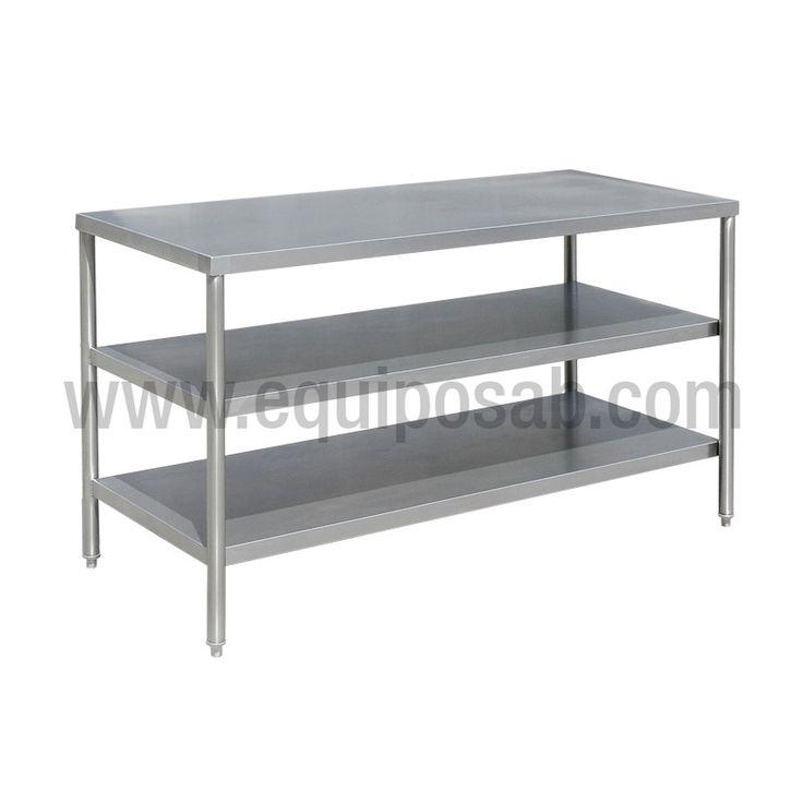Mejores 12 imágenes de mesas en acero en Pinterest   Acero ...