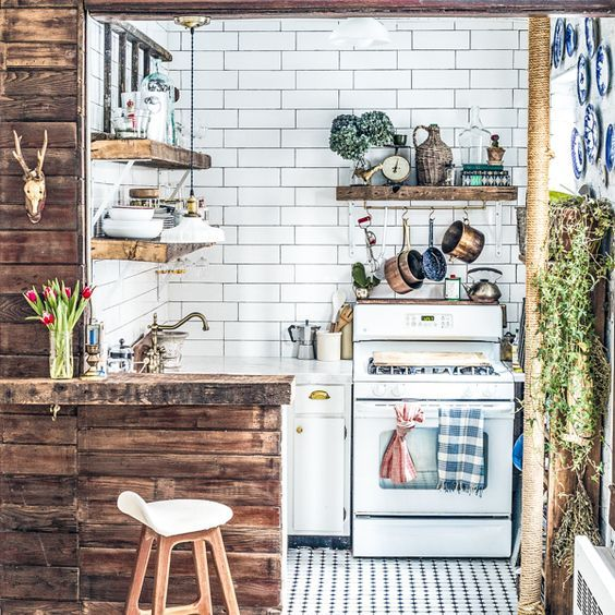 Tiny Kitchen Organizing and Decorating Tips from Zio & Sons: