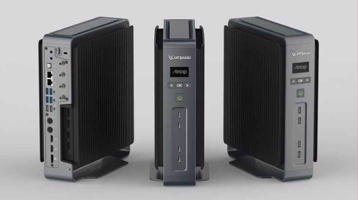 The Compulab Airtop -- A powerful Intel i-7 powered desktop PC; but completely passive-cooled, fanless, and practically silent. [Gizmag]