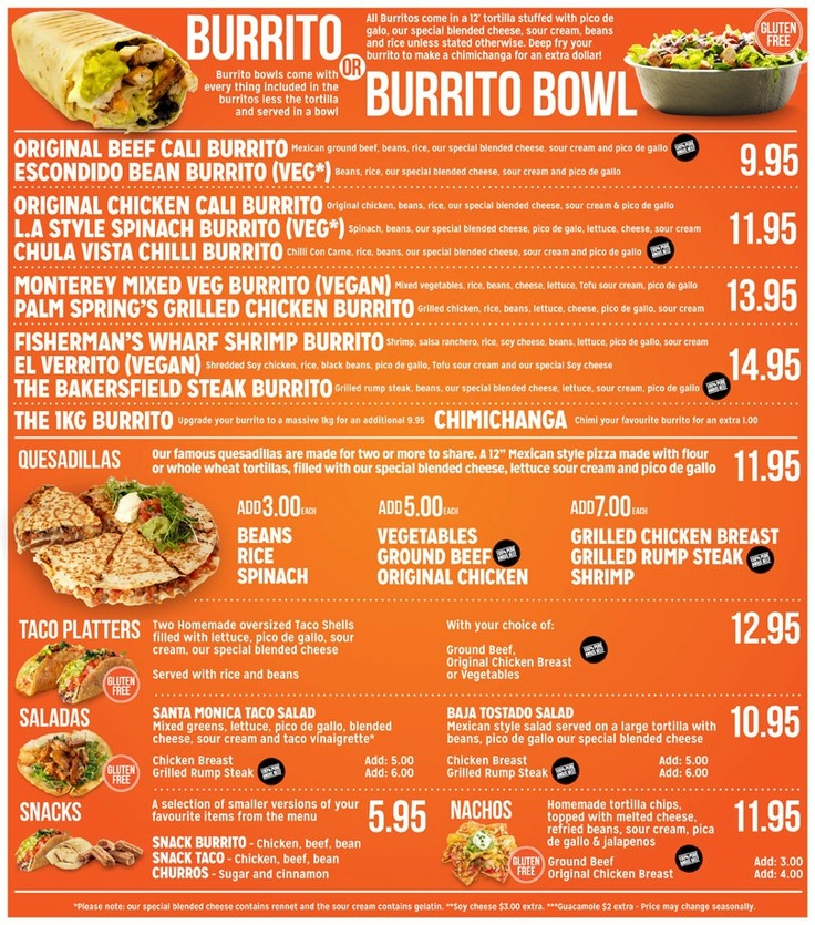 Check out our new menu!