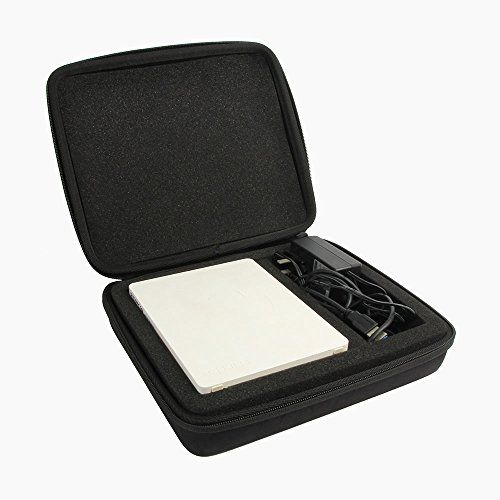 nice co2CREA duro EVA Almacenamiento Llevar Caja Bolsa Fundas caso para Toshiba Canvio Desk 2TB 3TB 4TB 5TB USB 3.0 External Desktop disco duro externo HDD
