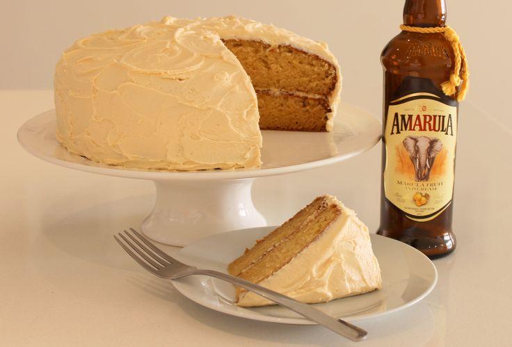 Amarula Cream Cake #southafrica