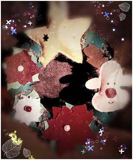 POIANA CU GAZUTZE: Coronita Craciun #fetru #handmade #craciun #cadou #moscraciun #jucarie #coronita #mosnicolae #sarbatori #decoratiuni #ornamente #felt #christmas #ornaments #decorations #toys #christmastree #santa #gift