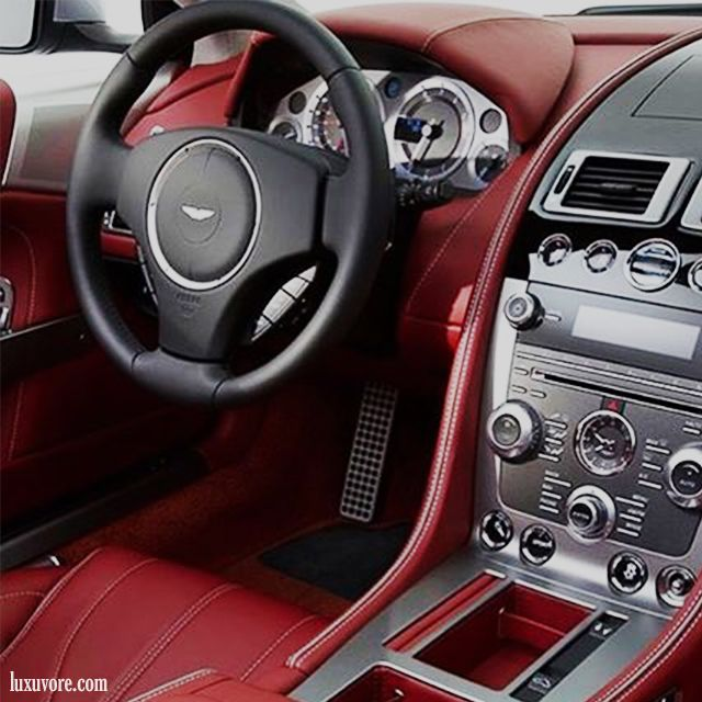 What do you think of this Aston Martin car interior.