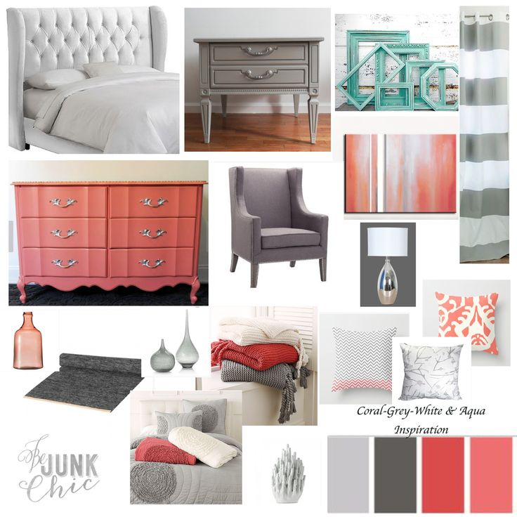 25+ Best Ideas About Gray Coral Bedroom On Pinterest