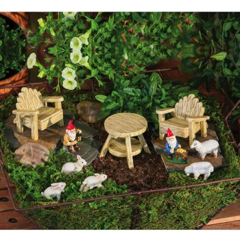 Mini Garden Assortment, Rustic Garden